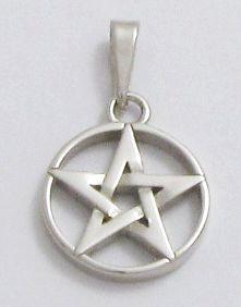 Stříbrný přívěsek - Pentagram 925 1000 28766ce2be5